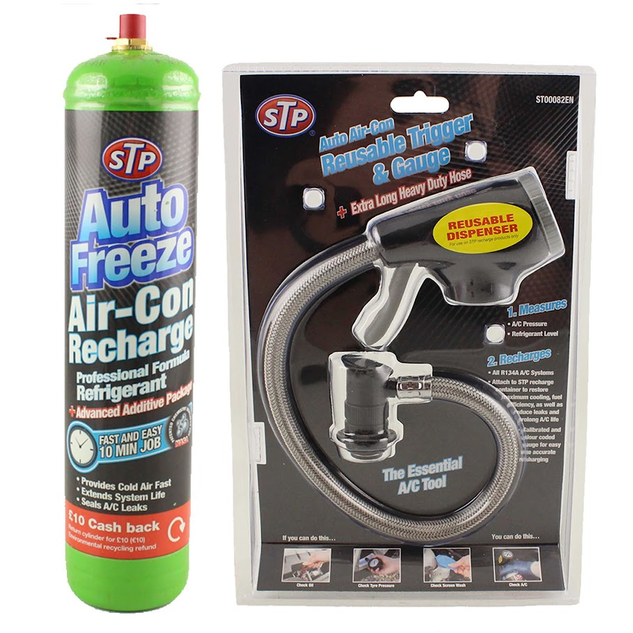 Car Air Con Conditioning Top Up Aircon Recharge Refill