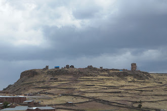 Photo: The towers of Sillustani.