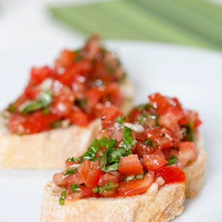 Fresh Tomato and Basil Bruschetta Recipe