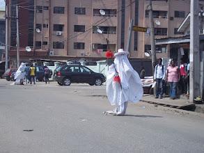 Photo: Lagosians watching the Eyo