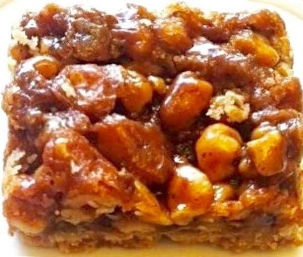 Maple Walnut Cookie Bars Recipe
