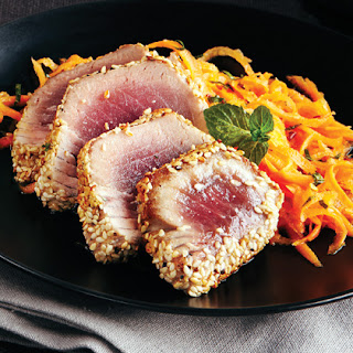 Sesame-Seared Tuna Recipe