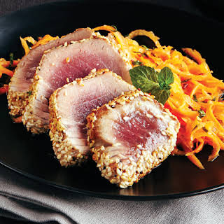 Sesame-Seared Tuna.