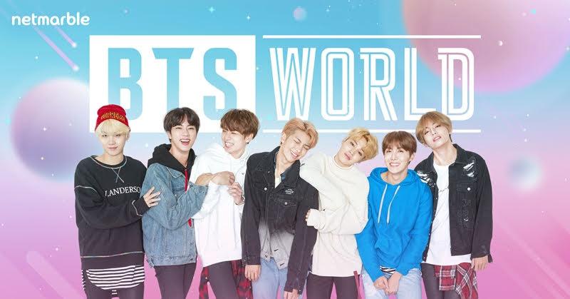 BTS WORLD ปั้นสมาชิกวง BTS เป็นซุปเปอร์สตาร์