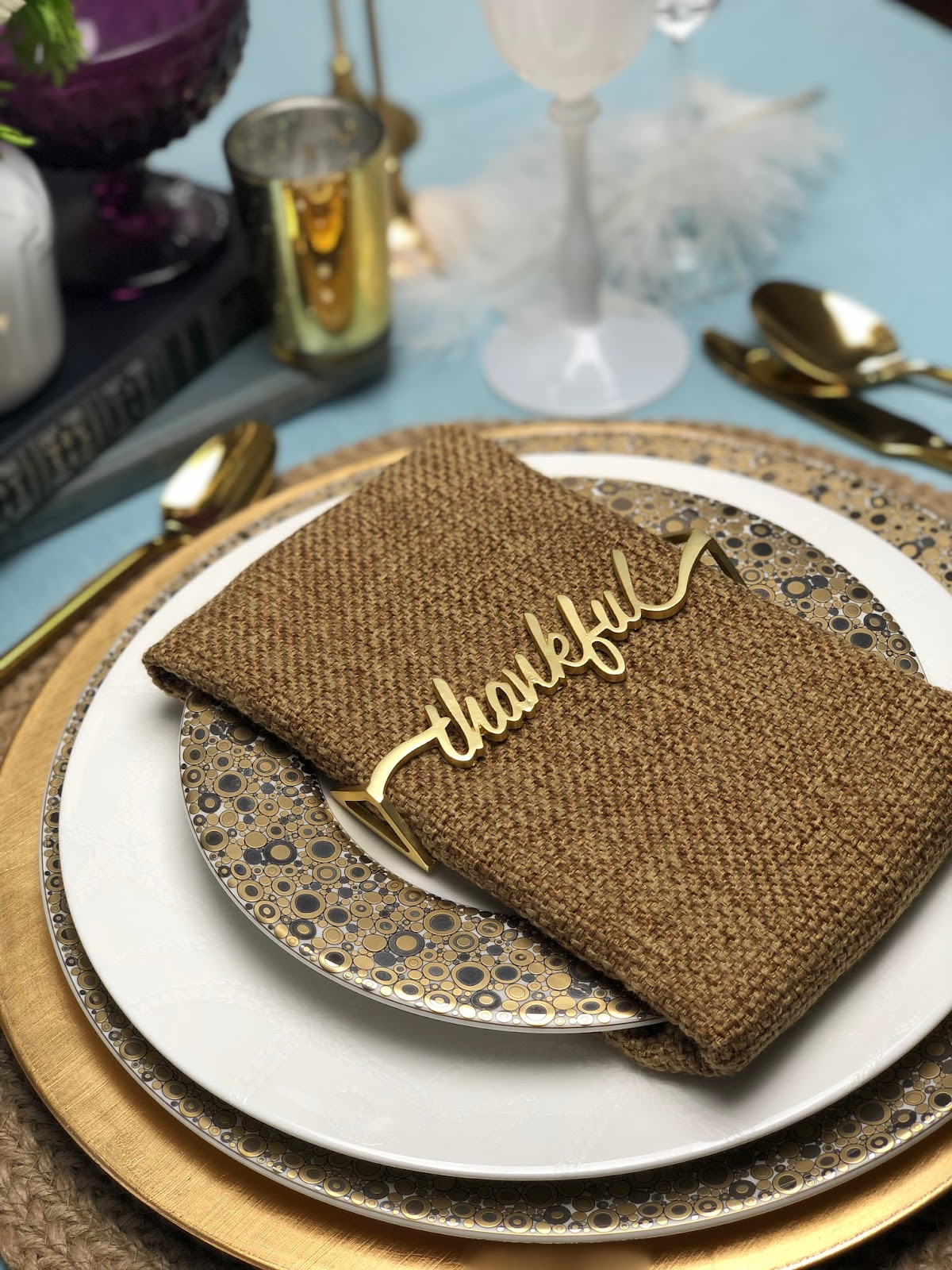 thankful napkin wraps