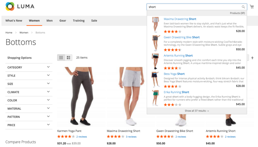 Mirasvit Search AutoComplete and Suggest Pro for Magento 2