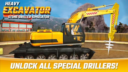 Heavy Excavator Stone Driller Simulator 1.0 screenshots 3