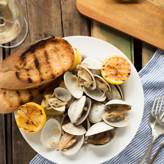 Beer Steamed Clams - at Home or on the Campfire! Recipe