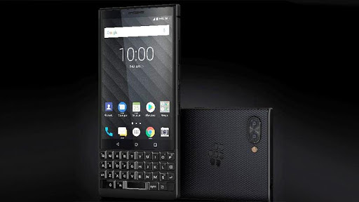 The BlackBerry KEY2, launched in June 2018.