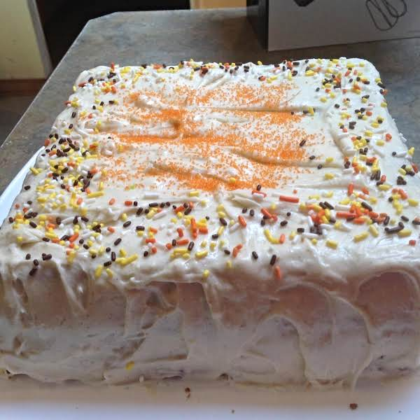 2 Layer Carrot Cake W/ Cream Cheese Frosting Recipe