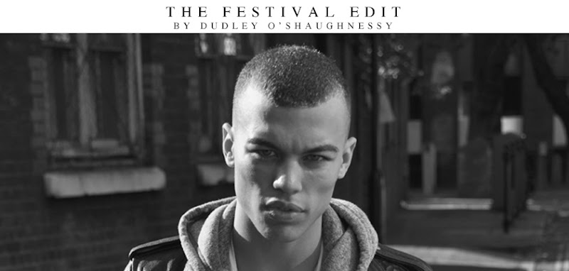 Photo: Model and actor, Dudley O'Shaughnessy took time away from the set of 'Life After Death' to do an exclusive edit of festival essentials.  He talks us through his unique style, love of graphic t-shirts and what makes AllSaints stand out from the rest. Here, we present his must have items for staying comfortable and cool this summer.  Shop all Festival Essentials>>  UK> http://bit.ly/MVYGZ5