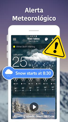 Previsão Meteorológica e Widgets e Radar screenshot 8
