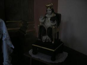 Photo: Figurka Chrystusa Króla.
