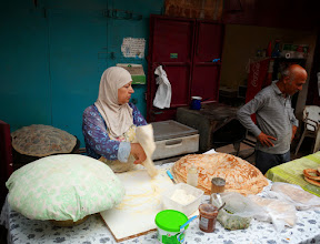 Photo: Making bread.