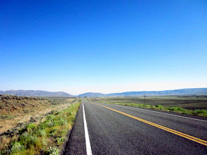 Photo: Is flat road between Saratoga and Walden? No, Road was gently rolling and some place long climbing.