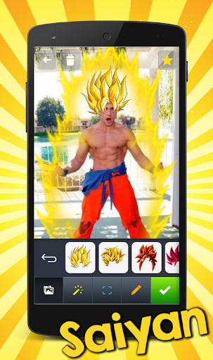 Super Saiyan DBZ Photo
