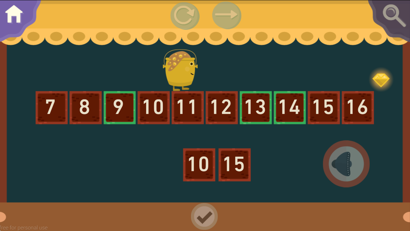 OxLand Maths- screenshot