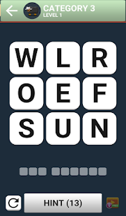 Word Brain Puzzle King - náhled