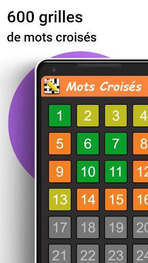 Télécharger Gratuit Mots Croisés en Français APK MOD (Astuce) screenshots 1