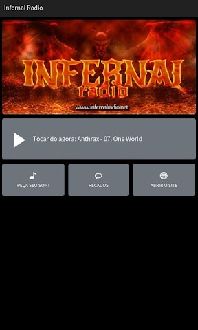 android Infernal Radio Screenshot 0