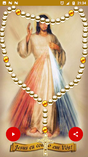 Holy Rosary Mercy with audio offline - náhled