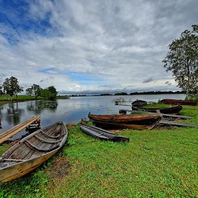 Lungo il Volga by Vito Masotino - Transportation Boats (  )