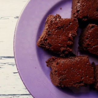 Flourless Coconut Oil Brownies.