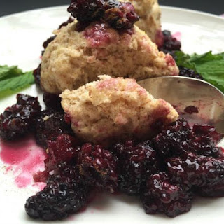 Easy Blackberries and Dumplings