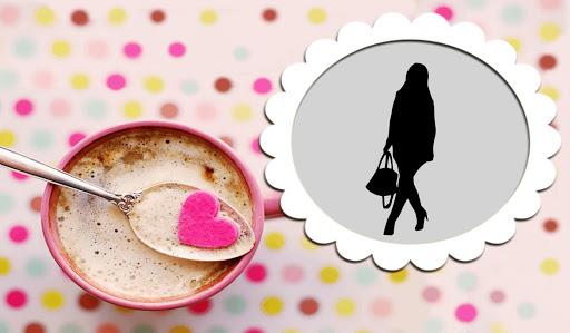 咖啡 杯 相框