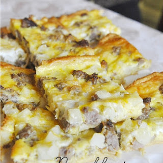 Breakfast Pizza and Breakfast with Friends.