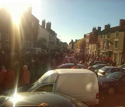 Photo: A larger turnout than 2012, the weather once again smiling. 11/11/87 was grim. I got married that day..