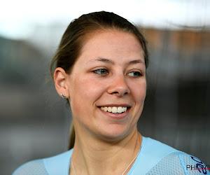 Shari Bossuyt haalt er knappe vijfde plaats uit in beloftentijdrit, Duitse dames pakken goud en zilver