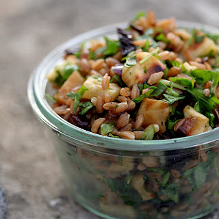 Roasted Root Vegetable & Wheat Berry Salad.