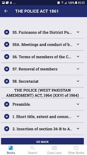 Police Law of Pakistan screenshot 3