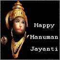 Hanuman Jayanti Card & Chalisa icon