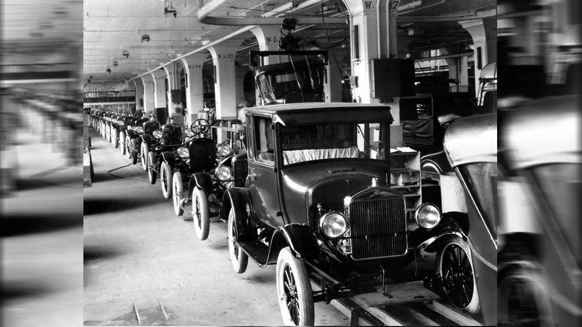 Ford T el primer auto en serie