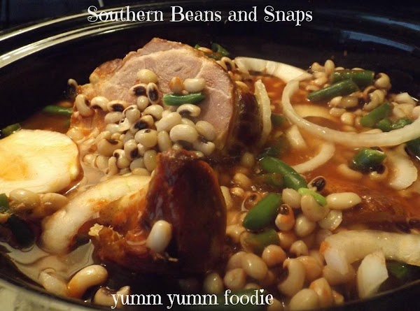 Southern Beans And Snaps Recipe