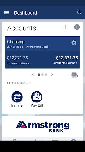 Armstrong Bank screenshot 2