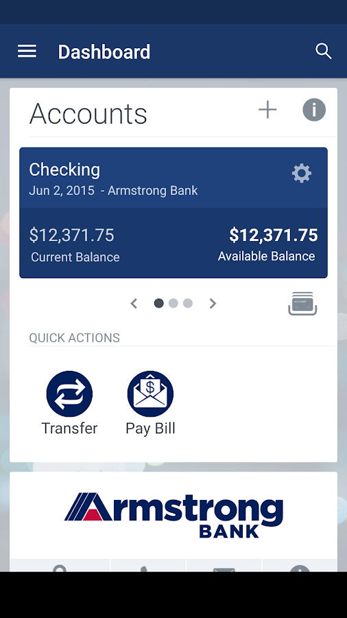 Armstrong Bank- screenshot
