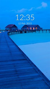 Essential Maldives Wall & Lock- screenshot thumbnail