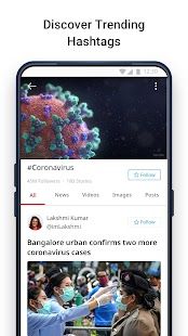 Dailyhunt (Newshunt)- News, Videos, Cricket Screenshot