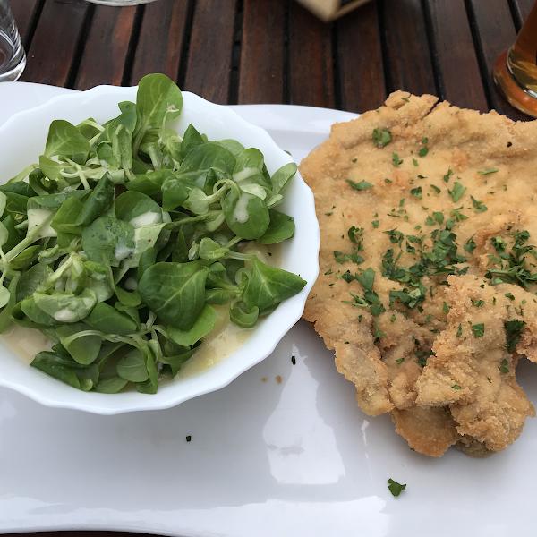 Snitzel with potato salad