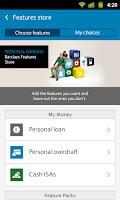 Screenshot of Barclays Mobile Banking
