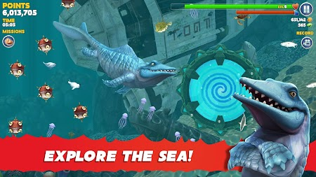 Hungry Shark Evolution APK screenshot thumbnail 2