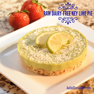 Raw Dairy-Free Key Lime Pie