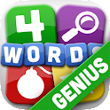 4 Words Genius - SAT GRE Words