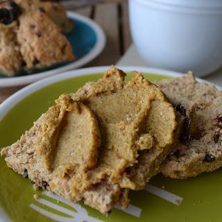 Slightly Sourdough Almond Butter Biscuits w/ Cacao, Orange & Tart Cherries