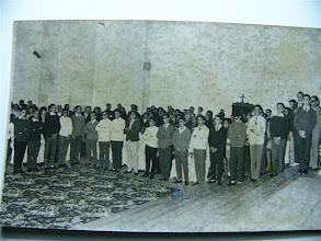 Photo: Caleruega septiembre de 1966:          Olóriz, Carracedo, Leónides, Amable, Palomo, Luis Trapiello, Pedro, Villa, Manjón, Izquieta, Alonso, Plaza, Camilo, Santamarta, Mallada, José Fernando, Maxi, Cicero.