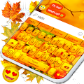 Autumn Leaves Keyboard 🍂 Leaf HD Theme Keyboards APK