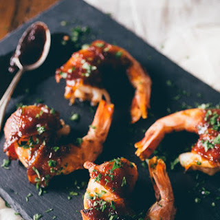 Apple Butter Bacon Wrapped Shrimp Recipe